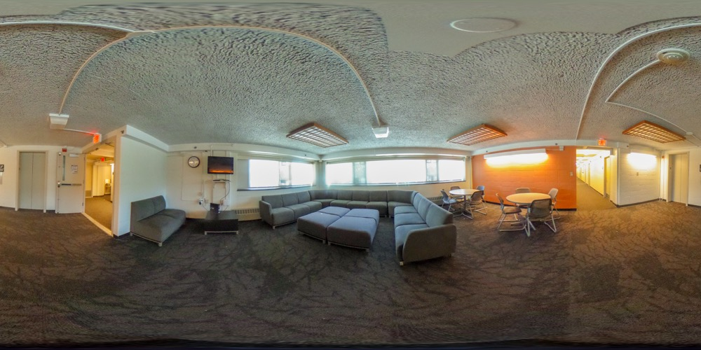 360 cover view of Chase Hall