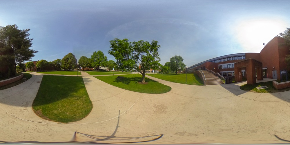 360 cover view of Engleman Hall