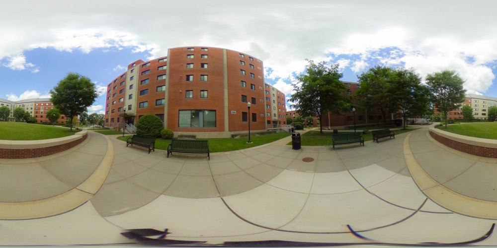 360 cover view of Hickerson Hall