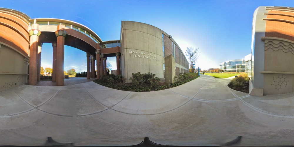 360 cover view of Jennings Hall