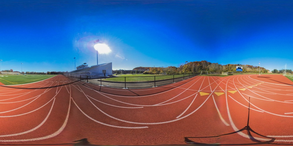 360 cover view of Jess Dow Field