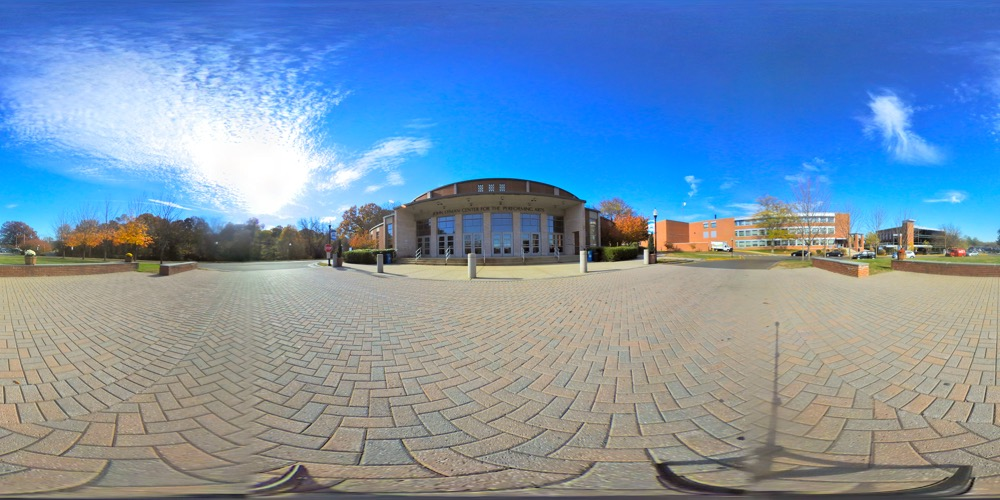 360 cover view of Lyman Center