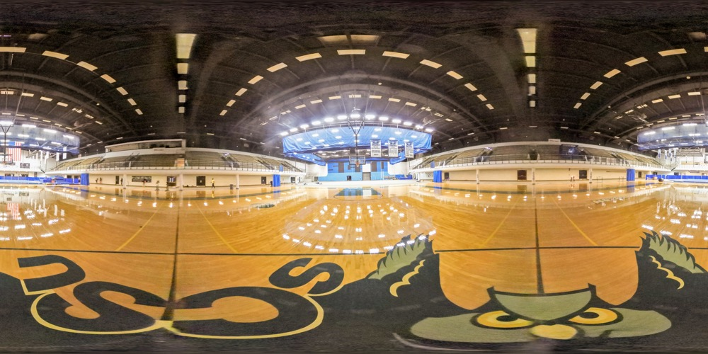 360 cover view of Moore Field House