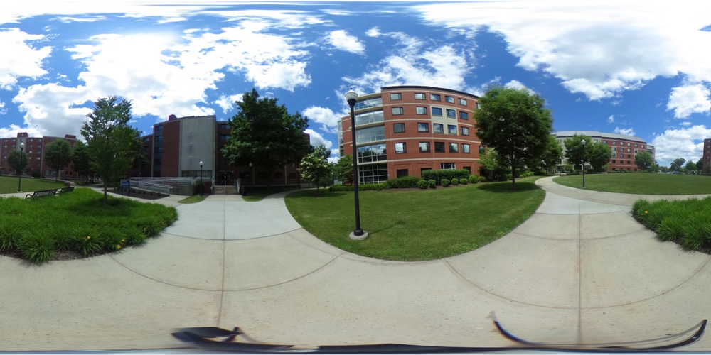 360 cover view of Neff Hall