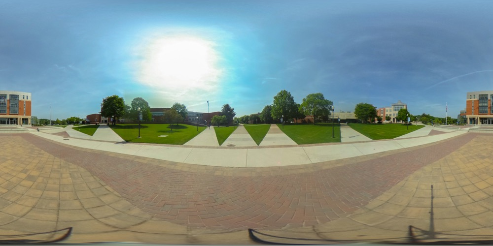 360 cover view of Academic Quad