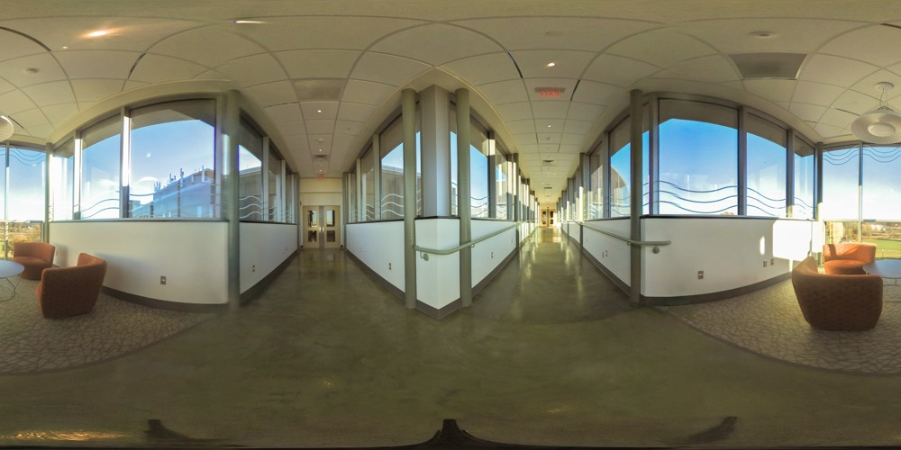 360 cover view of Academic Science and Laboratory Building