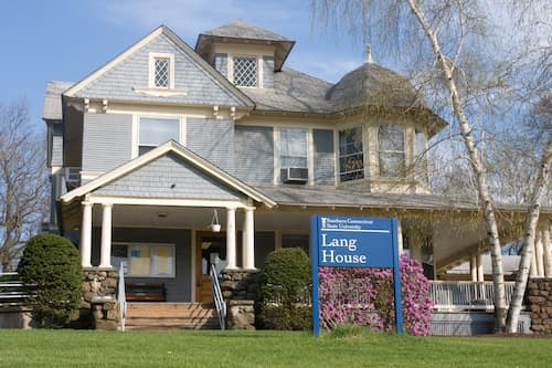 Front of the Lang House