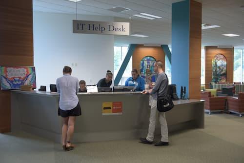IT Help Desk inside Buley