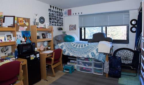 Chase dormitory dorm room