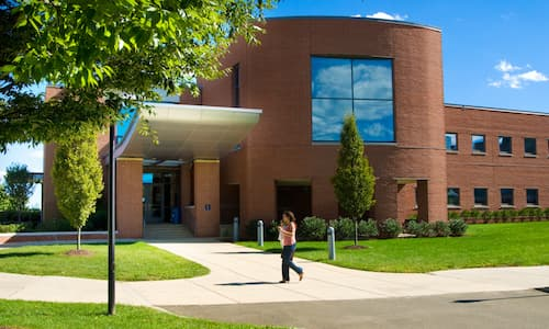 Back entrance of Engleman