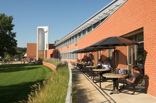 Front patio of Engleman