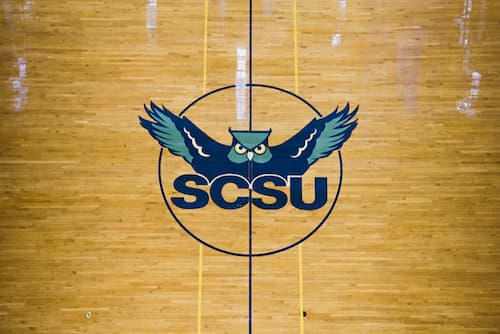 SCSU Moore Field House Logo