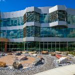 Science building exterior
