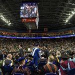 Thousands of people inside Webster Arena
