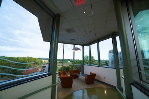 Lounge in the new Science Building