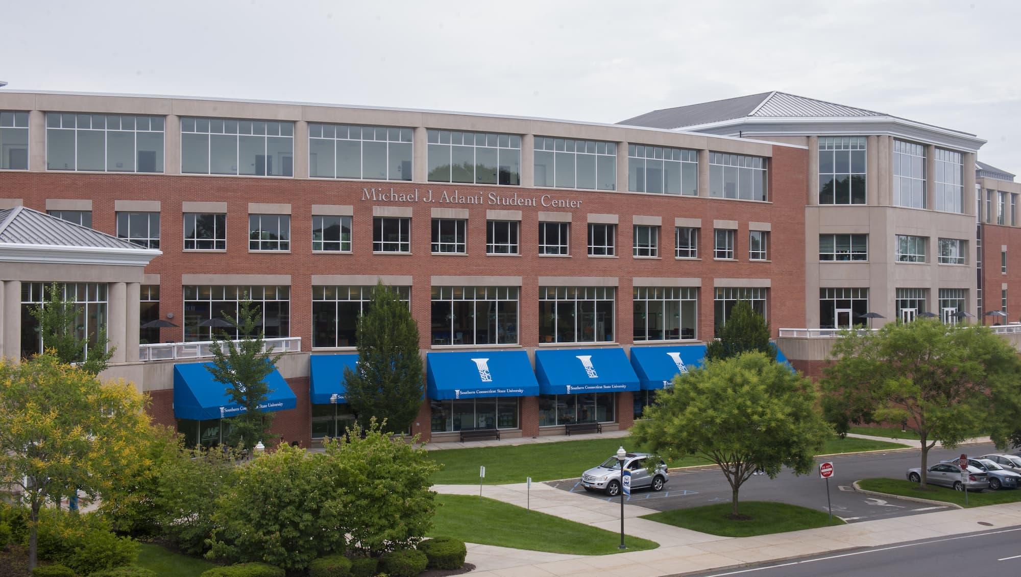 Adanti Student Center Southern Connecticut State University